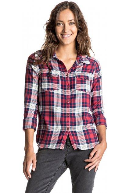 Červeno-modrá košile Roxy