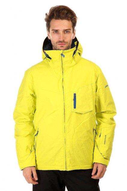 Žluto-modrá zimní bunda Quiksilver
