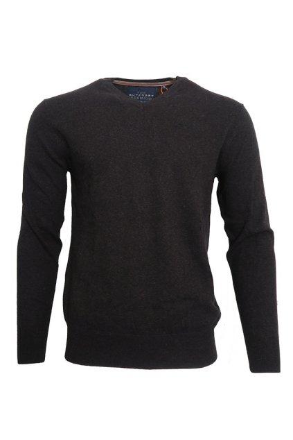 Elegantní svetr s výstřihem do vé Superdry