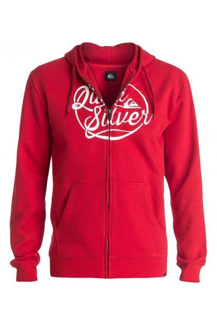Červená mikina Quiksilver