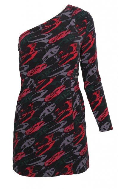 Asymetrické šaty Andy Warhol by Pepe Jeans