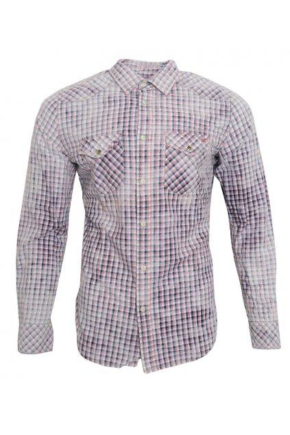 Vícebarevná kostkovaná košile Pepe Jeans
