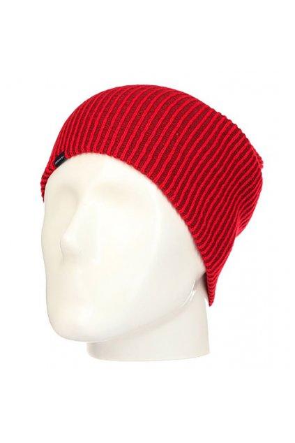 Červené čepice Quiksilver