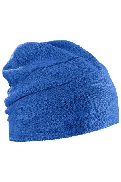 Modrá čepice Salomon