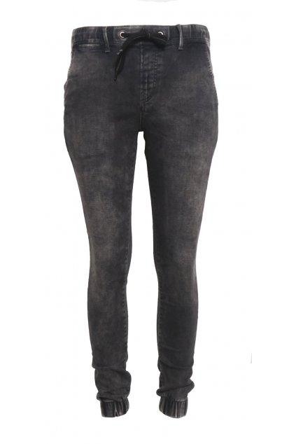 Dámské černé džíny na gumu Pepe Jeans