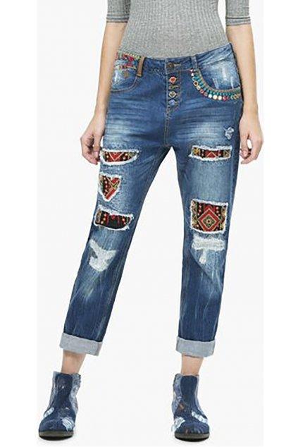 Dámské pestrobarevné džíny Desigual