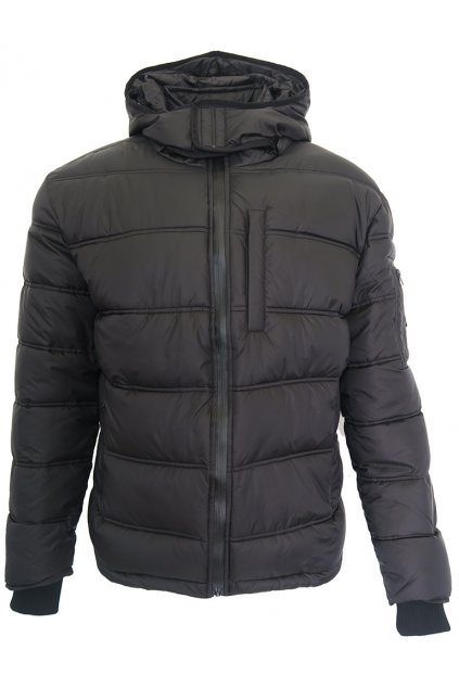 Černá bunda Scott