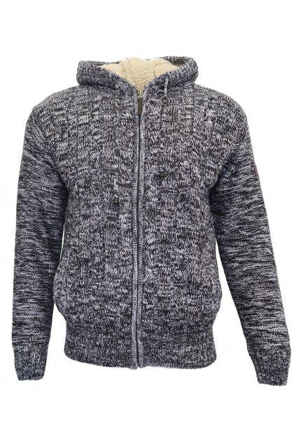 Teplý svetr na zip Scott