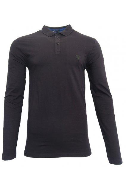 Tričko Scott s límečkem a dlouhým rukávem