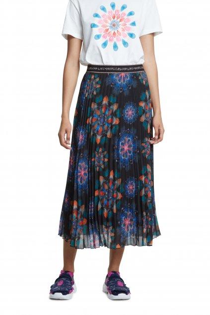 Květovaná sukně Desigual 20SWFW15