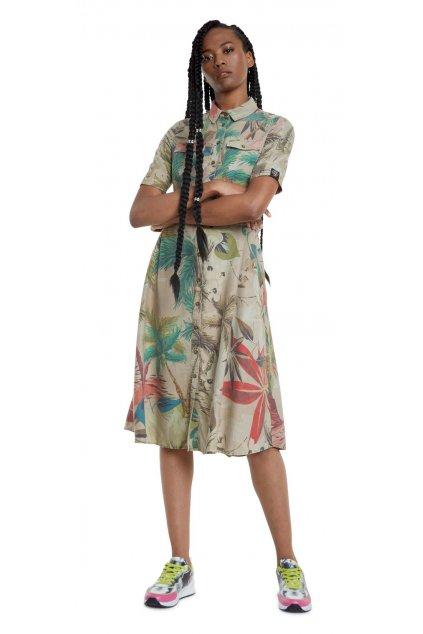 Košilové šaty Desigual 20SWVN01