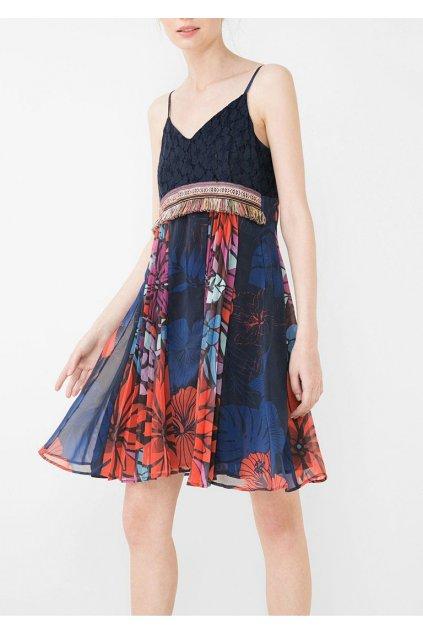 Šaty s krajkou Desigual
