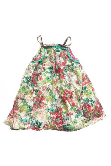 Kojenecké květované šaty s podšívkou Orchestra