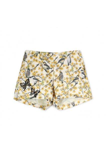 Květinové šortky Desigual