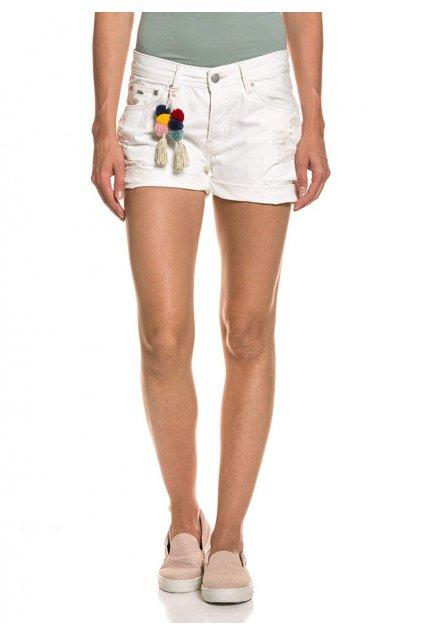 Dámské trhané džínové kraťasy Pepe Jeans