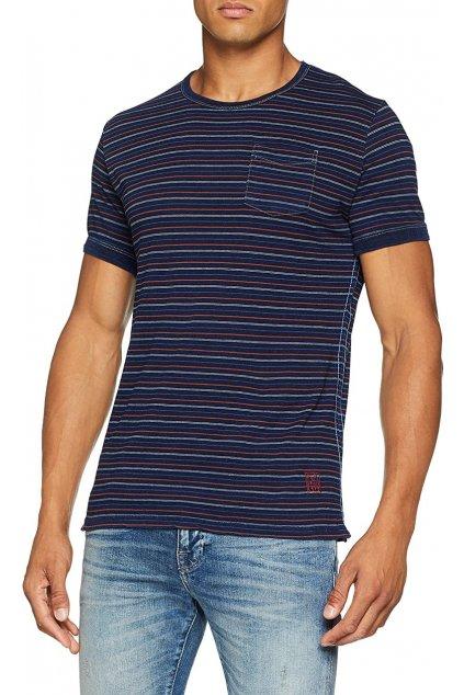 Pánské pruhované tričko Pepe Jeans