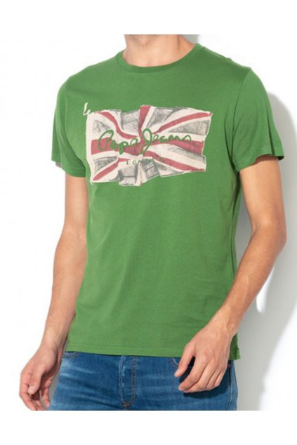 Pánské tričko Pepe jeans PM505671 Flag logo