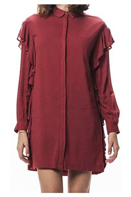 Halenkové šaty PEPE JEANS PL952401 Sasha