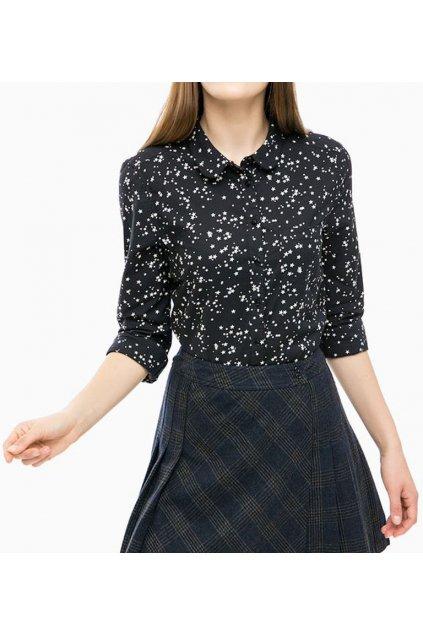 Černá košile s hvězdami SUPERDRY G40000AP