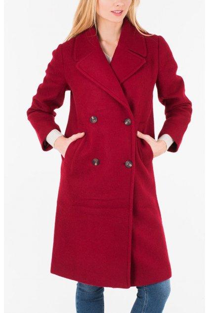 Červený kabát PEPE JEANS PL401528 EDURNE