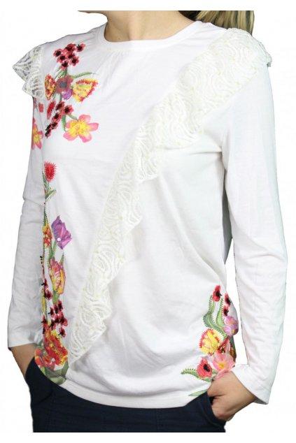 Halenka s květy DESIGUAL 69T26E3/1000