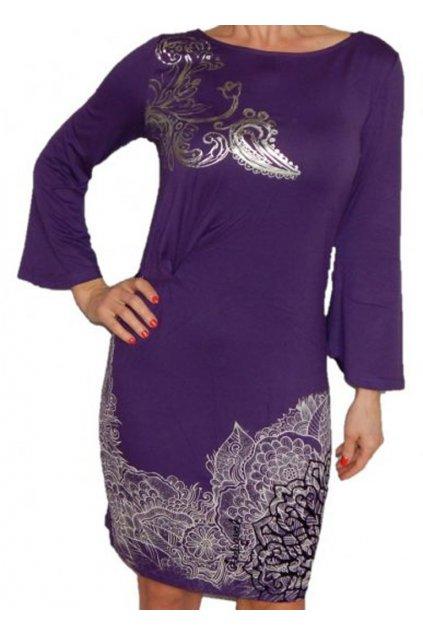 Fialové šaty DESIGUAL 69V20H0/5075