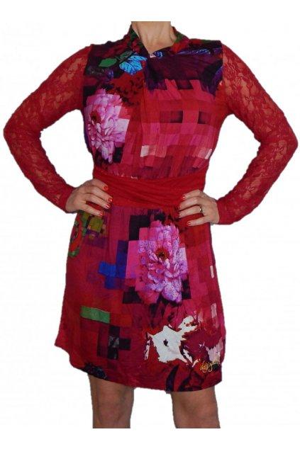 Barevné šaty DESIGUAL 69V20D8/3007
