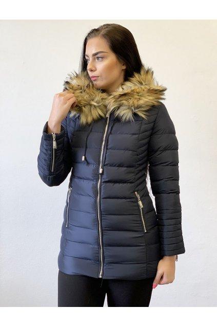 Zimní bunda Missfofo M-211A Blue