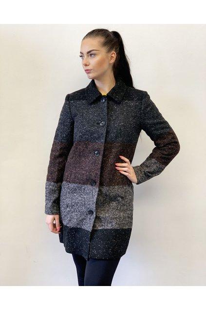 Melírovaný kabát Desigual