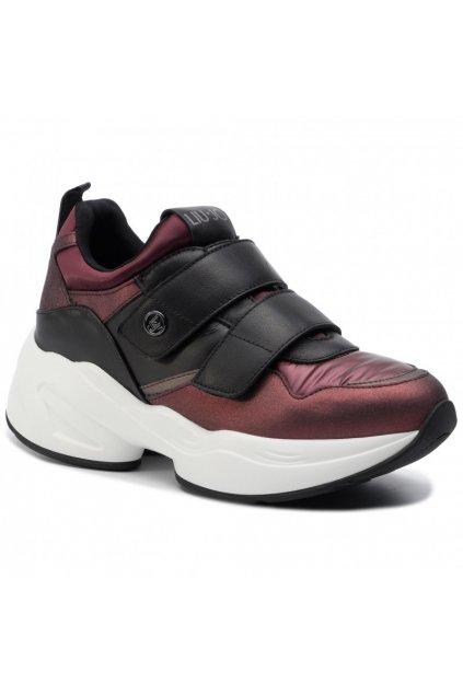 LIU JO Jog 01 - Sneaker Bordeaux