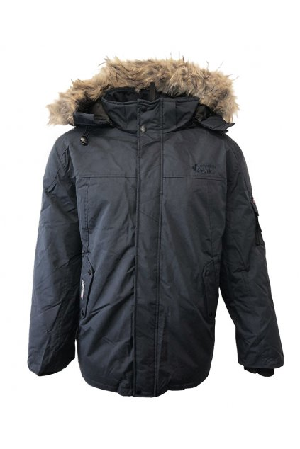 Zimní bunda Canadian Peak ALEX MEN 001 Black