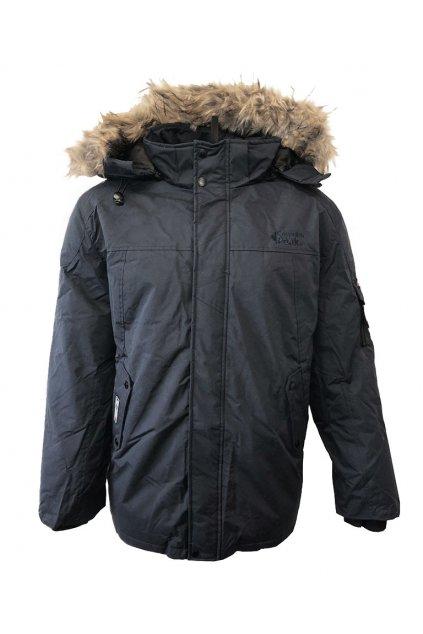 Zimní bunda Canadian Peak ALEX MEN 001 Black