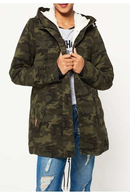 Zimní parka Superdry Rookie Sherpa multi jacket
