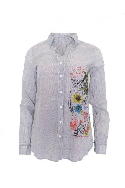 Desigual proužkovaná košile