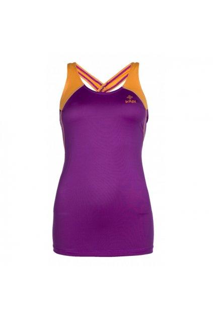 Kilpi Dámské běžečké tričko Hani fialová