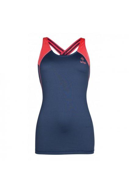 Kilpi Dámské běžečké tričko Hani tmavě modrá