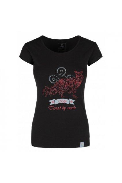 Kilpi Dámské tričko Foxy černá
