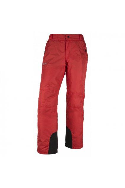 Kilpi Pánské lyžařské kalhoty Gabone červená