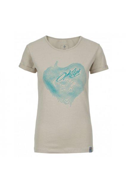 Kilpi Dámské tričko Yani béžová