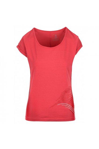 Kilpi Dámské tričko Oliva růžová