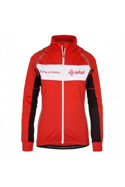 Kilpi Cyklistická bunda Zester červená