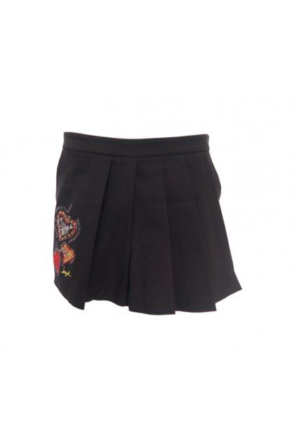 Desigual černá mini sukně