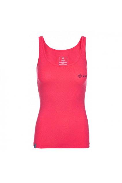 Kilpi Dámské tričko Carcasone růžová