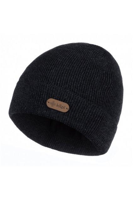 Kilpi Pánská čepice Benji černá  UNI