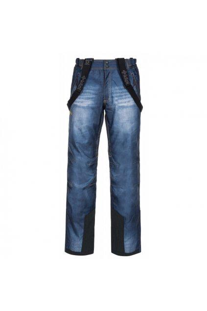 Kilpi Pánské lyžařské kalhoty Denimo modrá