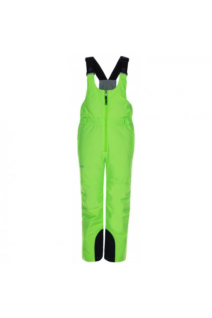 Kilpi Dětské lyžařské kalhoty Charlie zelená