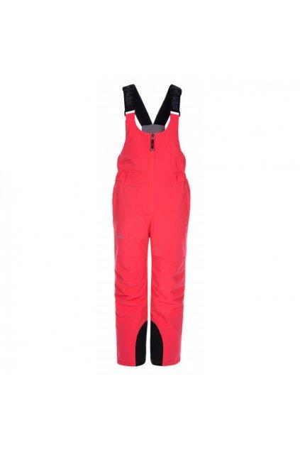 Kilpi Dětské lyžařské kalhoty Charlie růžová