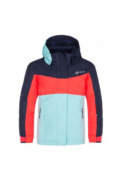 Kilpi Dětská lyžařská bunda Milsg růžová