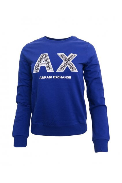 Mikina Armani Exchange 3GYM90 YJZ6Z True Blue