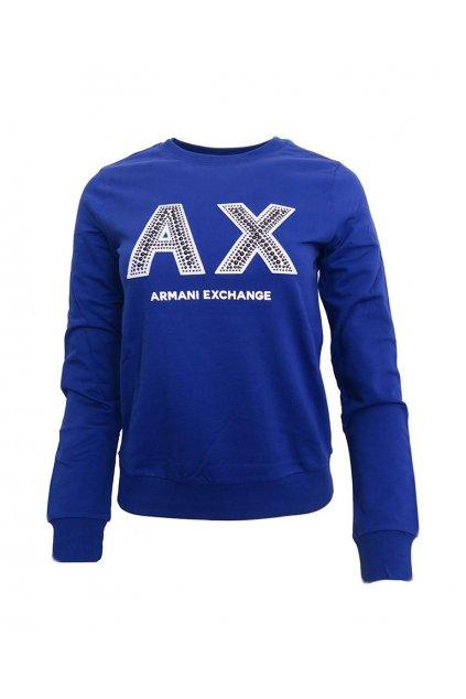 Mikina Armani Exchange 3GYM90 YJZ6Z True Blue